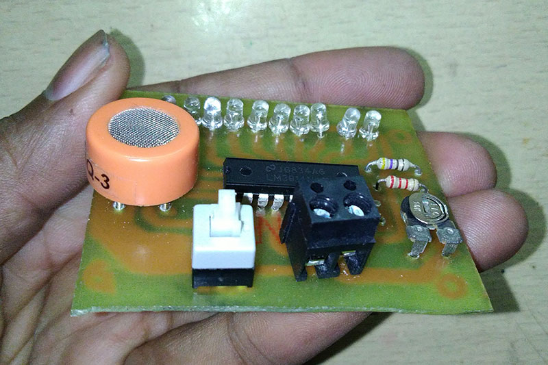 alcohol detector kit AKV Technical