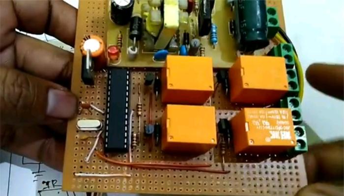 ir remote control opration