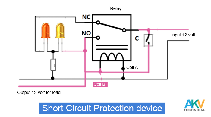 short-circuit-protection-device-circuit