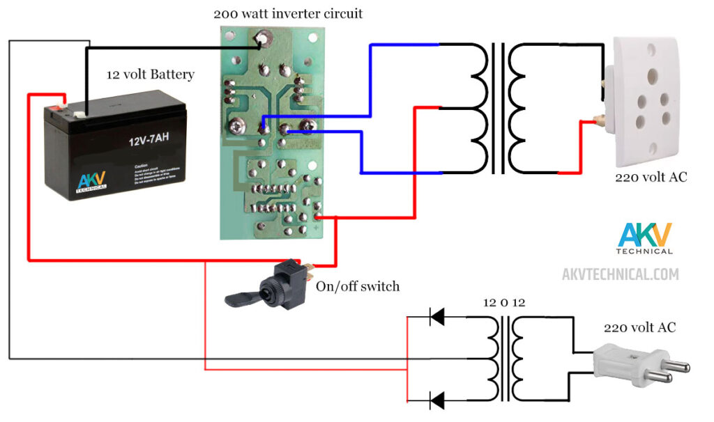 inverter-circuit-with-charger