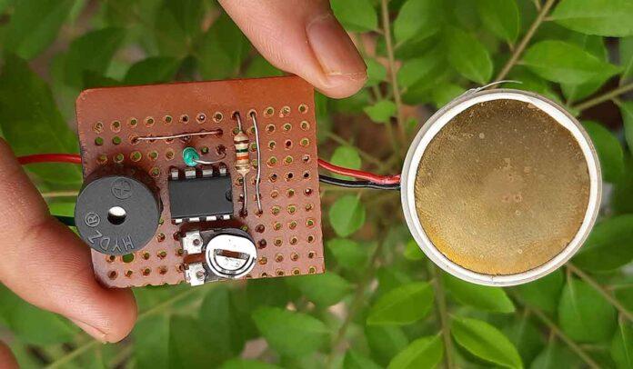 Pressure-Sensor-circuit
