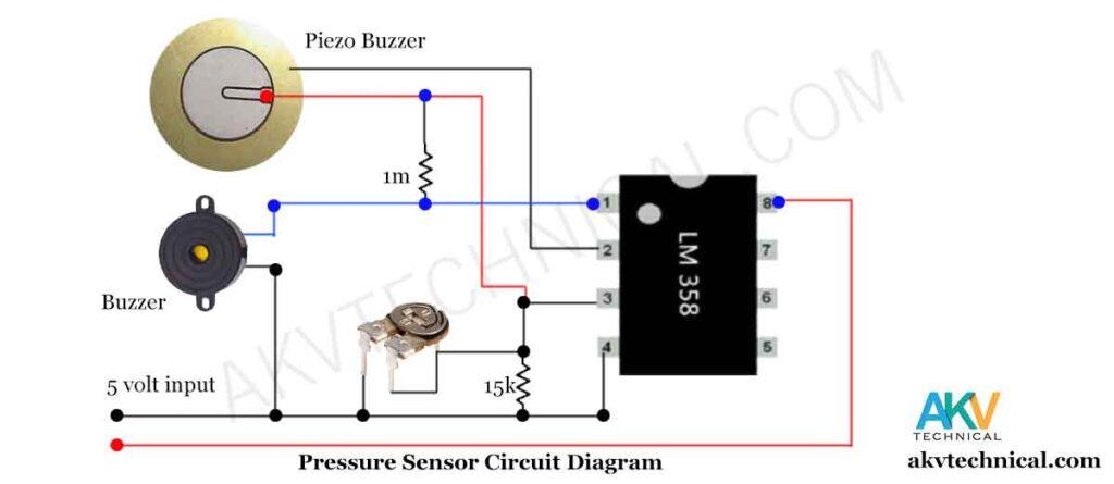 Pressure Sensor circuit diagram