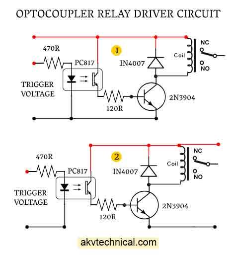 Optocoupler-Relay-Driver-akvtechnical